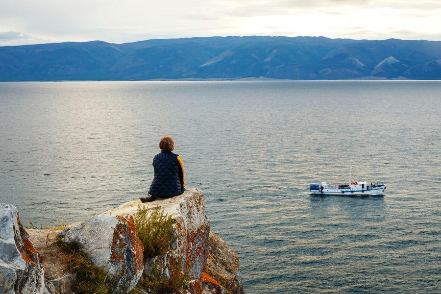 Остров Ольхон наозере Байкал вИркутской области