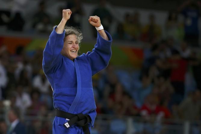 Аргентинка Паула Парето завоевала золото Олимпийских игр в соревнованиях дзюдоисток в весе до 48 кг.