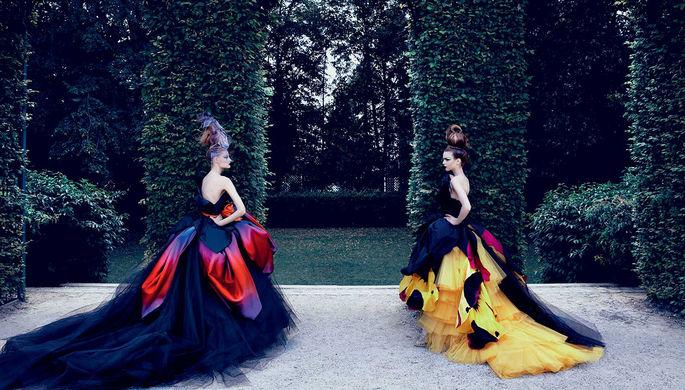 Показ коллекции Christian Dior
