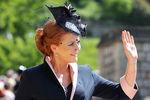 Сара, герцогиня Йоркская насвадьбе принца Гарри и Меган Маркл вВиндзоре, 19 мая 2018 года