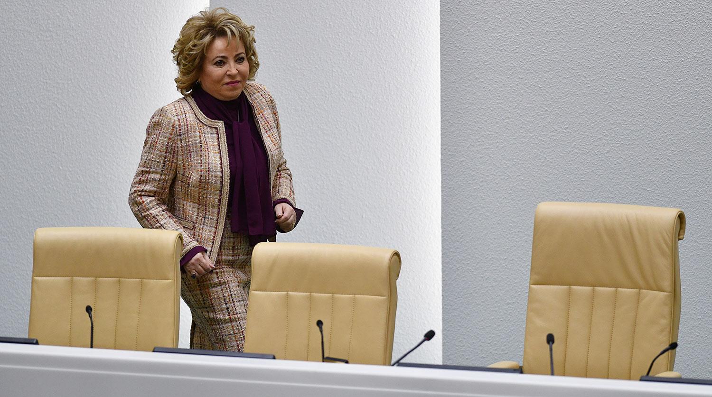 Матвиенко назвала решение СЕ по России торжеством справедливости