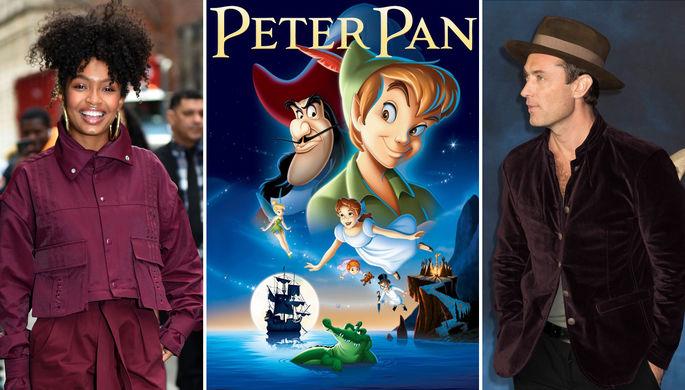 Джуд Лоу и темнокожая Динь-Динь: Disney готовит ремейк «Питера Пэна»