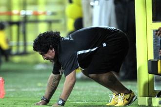 Марадона готов к забегу с «Блэкберном»