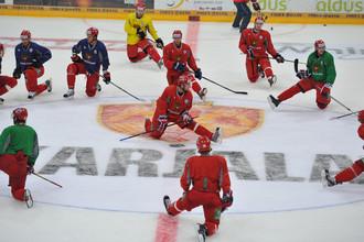 Российские хоккеисты готовятся к Кубку «Карьялы»