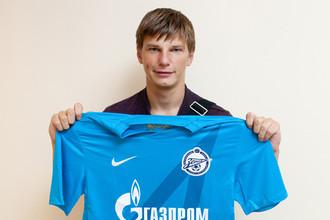 Андрей Аршавин вновь окрасился в сине-бело-голубые цвета