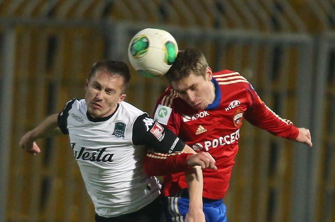 ЦСКА проиграл «Краснодару» (0:1) в рамках 19-го тура чемпионата России по футболу.
