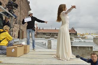 Съемки фильма «Петербург. Селфи»