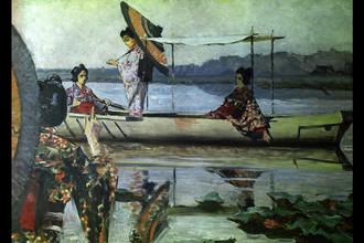 Василий Верещагин. Прогулка в лодке. 1904