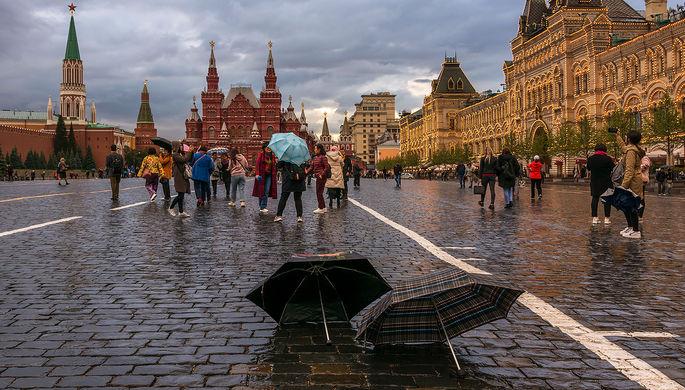 Аномальный ноябрь: москвичей ударит по голове