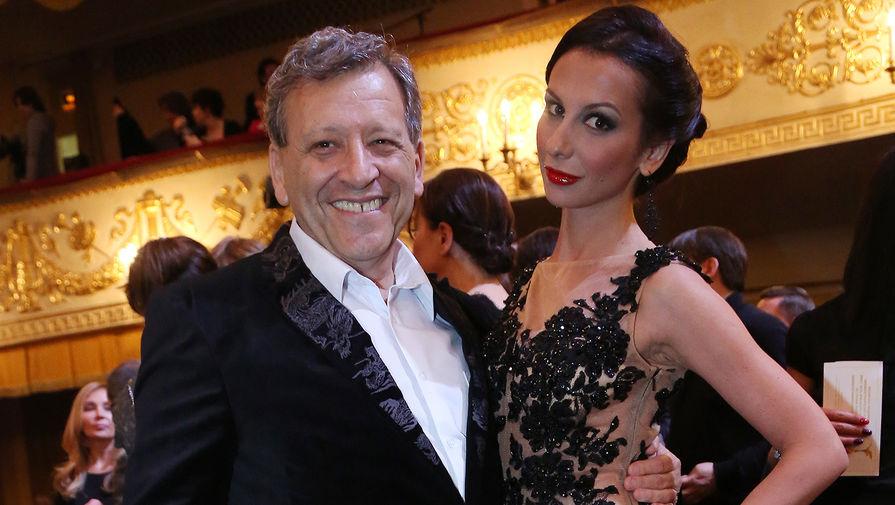 Борис Грачевский со второй супругой Анной на церемонии вручения премии «Ника» в Москве, 2013 год