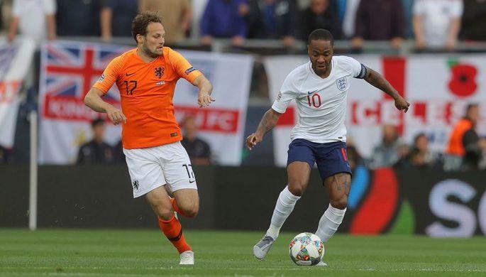 Эпизод матча Нидерланды- Англия