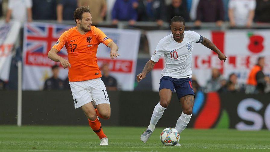 Сборная Нидерландов обыграла команду Англии и вышла в финал Лиги наций
