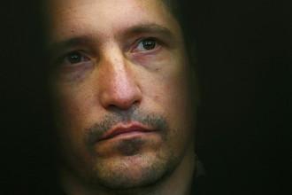 Подозреваемый в убийстве 9 человек Сергей Егоров в Тверском областном суде, 29 августа 2017 года