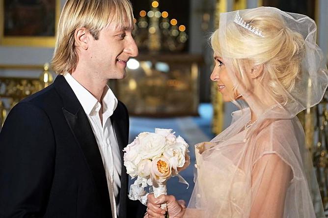 В сентябре этого года Плющенко и Рудковская обвенчались