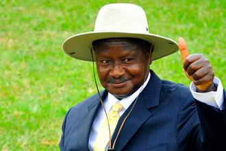 Йовери Кагута Мусевени, президент Угандыс 29 января 1986 года