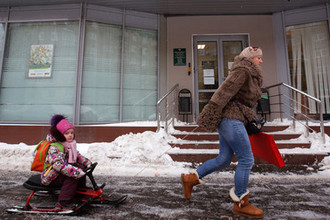 Гадкий ноябрь: мокрый снег и гололед идут на Москву