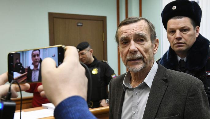 Лидер движения «За права человека» Лев Пономарев в Мосгорсуде России, декабрь 2018 год