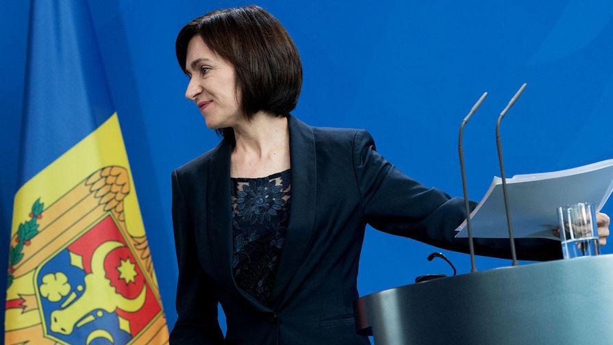 Президент Молдавии Майя Санду