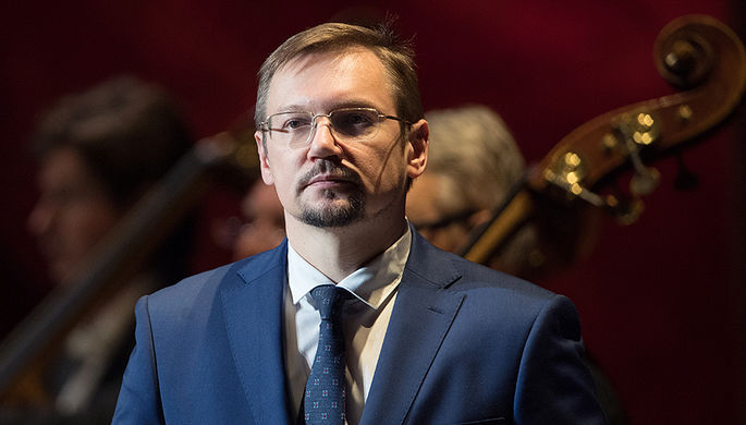 Заместитель министра культуры России Александр Журавский