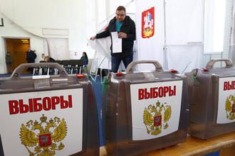 Работа избирательных участков в день голосования. Подмосковье, 18 марта 2018 года