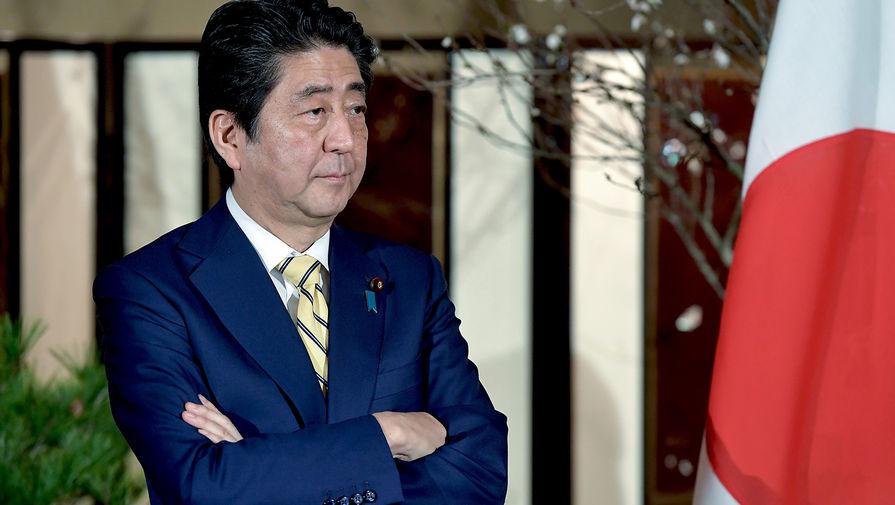 Премьер-министр Японии Синдзо Абэ, 2016 год