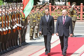 Появление Асада в Минске не вписывается в логику международной игры Лукашенко