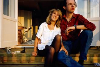 Ханс Кристиан Раузинг с женой