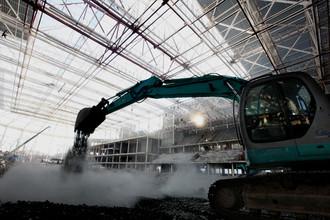 Строительство арены во Владивостоке идет полным ходом