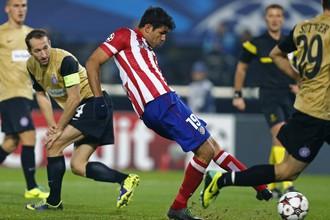 Диего Коста забивает второй матч в ворота австрийцев