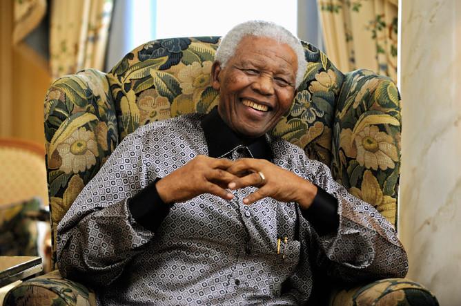 Нельсон Мандела. 2008 год