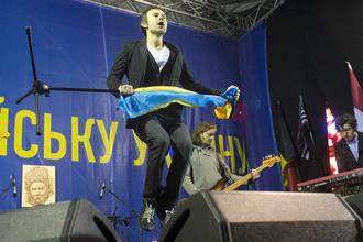 Группа «Океан Эльзи» на концерте в Киеве
