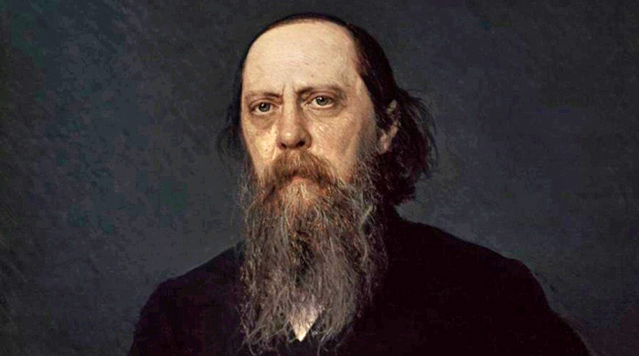 Портрет писателя М.Е. Салтыкова-Щедрина, 1879 год