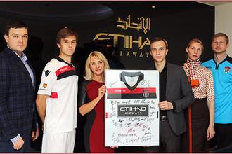 Etihad Airways стала коммерческим партнером ФК «Химки»