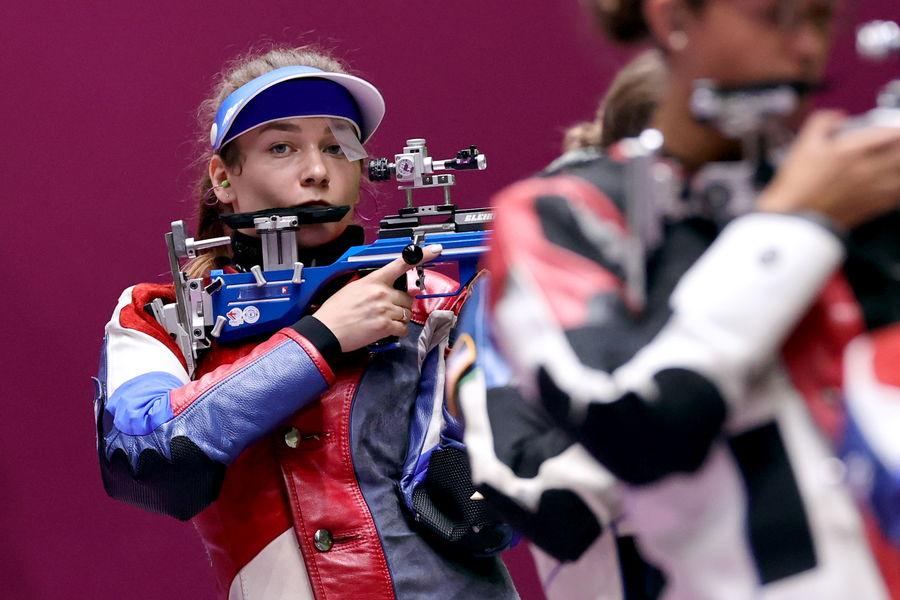 Российский стрелок Юлия Зыкова наОлимпийских играх вТокио