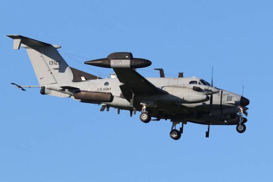 Beechcraft RC-12X Guardrail