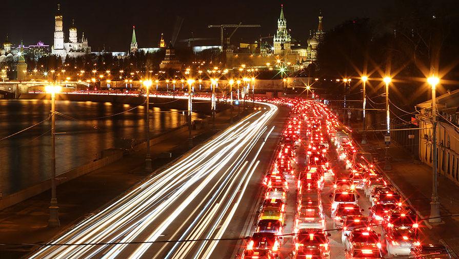 В москве где пробки
