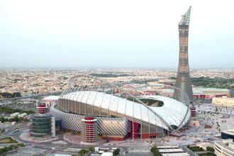 Международный стадион Халифа в столице Катара Дохе
