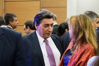 Вице-президент Международной шахматной федерации (ФИДЕ) Георгиос Макропулос