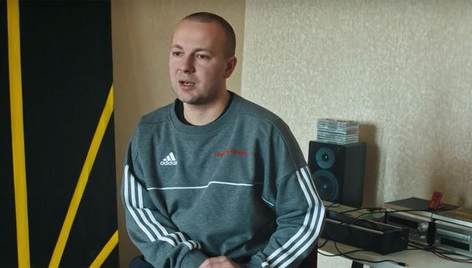 Гоша Рубчинский (кадр из видео)