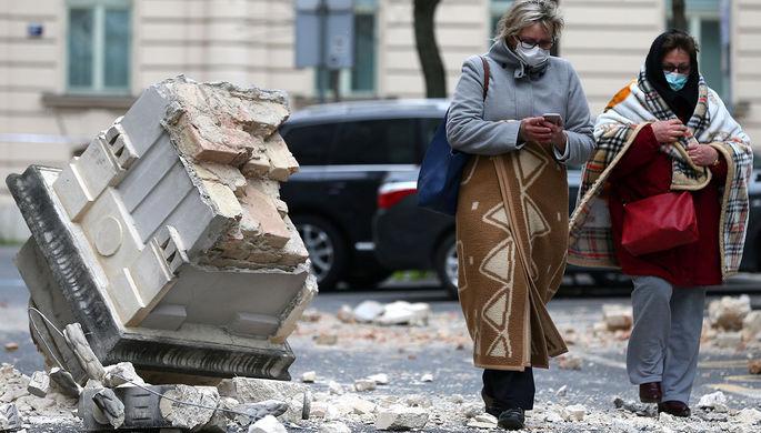 Загреб в завалах: сильнейшее за 140 лет землетрясение в Хорватии