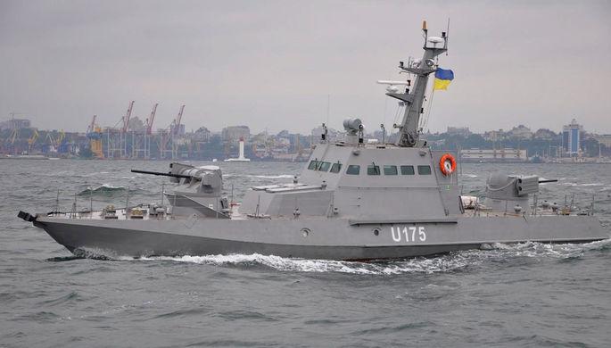 Бронекатер проекта 58155 «Гюрза-М» ВМС Украины, июнь 2016 года