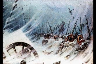 Василий Верещагин. Ночной привал великой армии. 1896-1897 гг