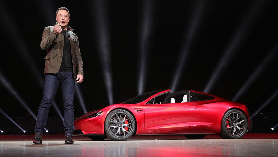Илон Маск и Tesla Roadster