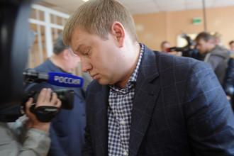 Александр Шарый в Никулинском суде Москвы, 23 мая 2017 года