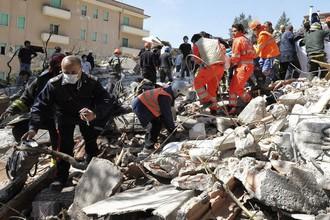 Жертвами землетрясения в городе Аквила стали 309 человек
