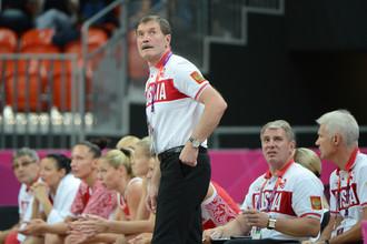 Главный тренер сборной России Борис Соколовский