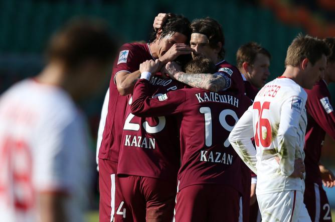 После возобновления чемпионата России «Рубин» набрал семь очков из девяти возможных