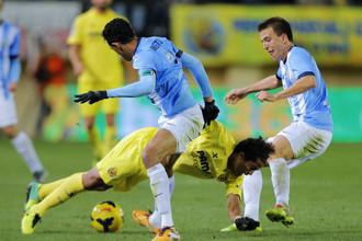 «Малага», уступая в счете «Вильярреалу», все же сумела отыграться на 94-й минуте