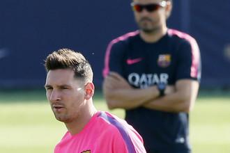 Лионель Месси дает понять всем, что в «Барселоне» на первом плане он, а не главный тренер