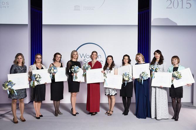 Все лауреаты премии «Для женщин в науке»